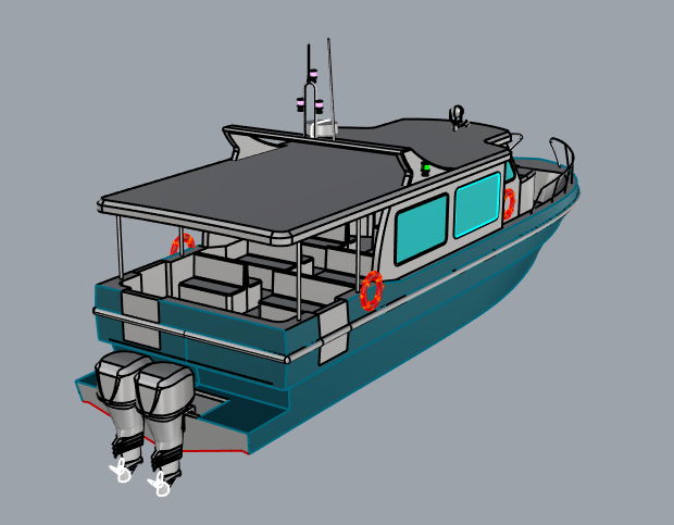 Navy Passenger boats
