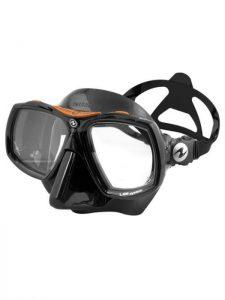 aqualung look black mask