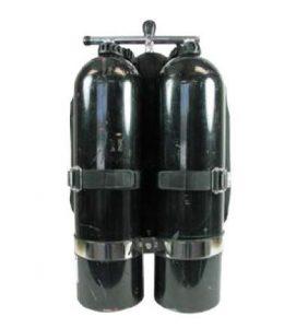 twin cylinder diving set