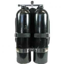 twin cylinder diving set