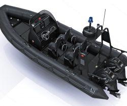 rhib boat for military